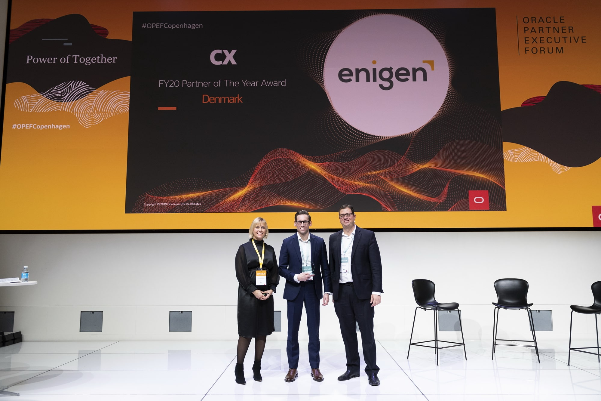 Enigen Oracle CX Partner of the Year